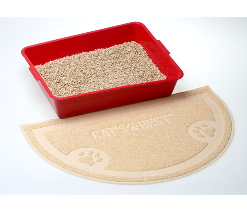 Cats Best Cat litter and Anti tracking mat | Meister Trading | The Cat Product Specialist