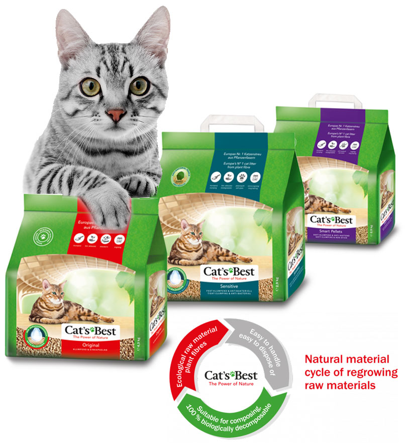 Cats Best Page image | Meister Trading | The Cat Product Specialist