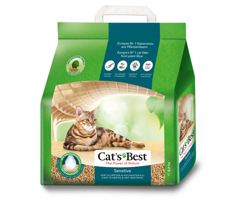 Cat's Best Sensitive 8L litter| Meister Trading | The Cat Product Specialist