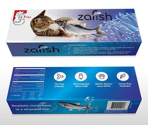 zaKatz zaFish Interactive toy